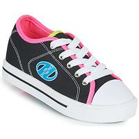Zapatos Niña Zapatos con ruedas Heelys CLASSIC X2 Negro / Rosa / Azul