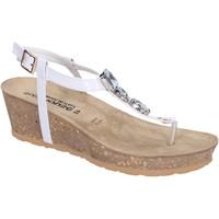 Zapatos Mujer Sandalias Dott House Sandalias Charol Blanco