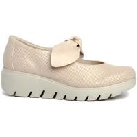 Zapatos Mujer Derbie & Richelieu Traveris 92300 Beige