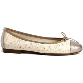 Zapatos Mujer Bailarinas-manoletinas Traveris 91401 Beige