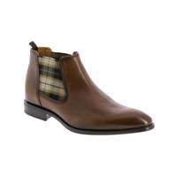 Zapatos Hombre Botas de caña baja André CABALLO Cognac