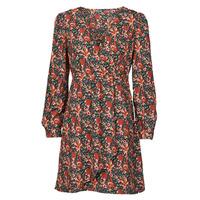 textil Mujer Vestidos cortos Betty London NOMIM Negro / Rojo
