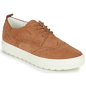 Zapatos Mujer Zapatillas bajas Geox D BREEDA Marrón