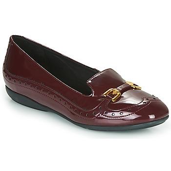Zapatos Mujer Bailarinas-manoletinas Geox D ANNYTAH Burdeo