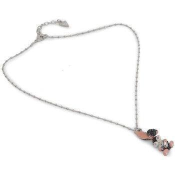 Relojes & Joyas Mujer Collar Guess - ubn120 Gris