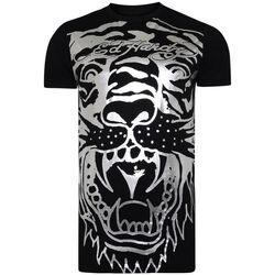 textil Hombre Camisetas manga corta Ed Hardy - Big-tiger t-shirt Negro