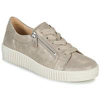 Zapatos Mujer Zapatillas bajas Gabor 6333462 Beige / Oro