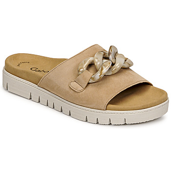 Zapatos Mujer Zuecos (Mules) Gabor 6374314 Caramelo