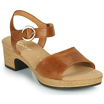 Zapatos Mujer Sandalias Gabor 6272153 Camel