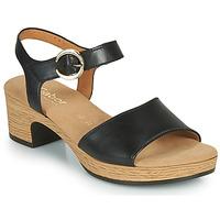 Zapatos Mujer Sandalias Gabor 6272157 Negro