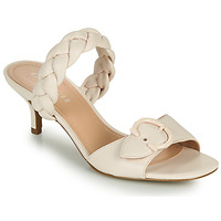Zapatos Mujer Zuecos (Mules) Coach MOLLIE Marfil