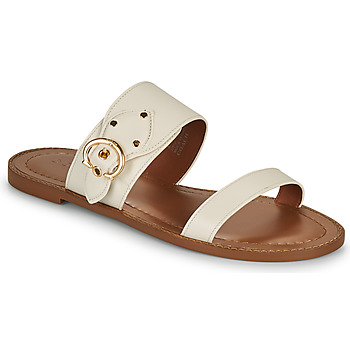 Zapatos Mujer Zuecos (Mules) Coach HARLOW Marfil