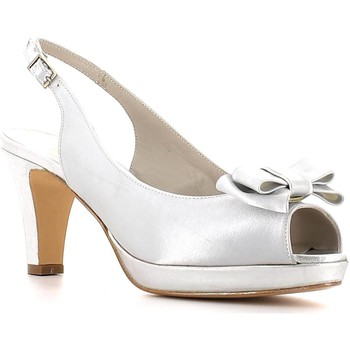 Zapatos Mujer Sandalias Grace Shoes 876 High heeled sandals Mujeres Silver Silver