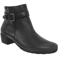 Zapatos Mujer Botines Mephisto Idalie Cuero negro
