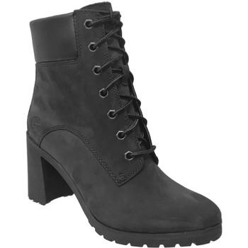 Zapatos Mujer Botines Timberland Allington 6 in boot Nobuck negro