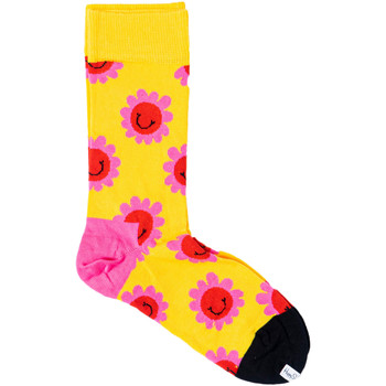 Accesorios Mujer Calcetines Happy Socks SMF01 Giallo