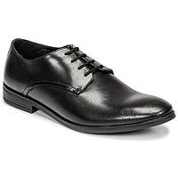 Zapatos Hombre Derbie Clarks STANFORD WALK Negro