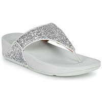 Zapatos Mujer Chanclas FitFlop LULU GLITTER Plata