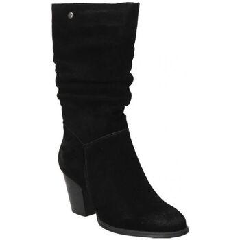 Zapatos Mujer Botas urbanas Top3 BOTAS  20818 MODA JOVEN NEGRO Noir