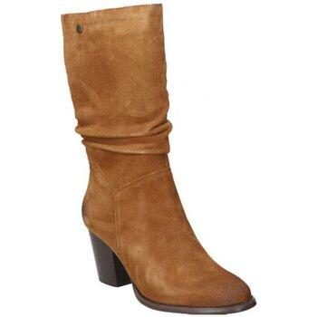 Zapatos Mujer Botas urbanas Top3 BOTAS  20818 MODA JOVEN CUERO Marron