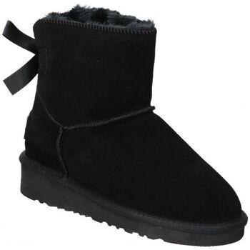 Zapatos Mujer Botas de nieve Top3 BOTINES  20857 MODA JOVEN NEGRO Noir