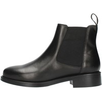 Zapatos Mujer Botines Frau 98L3 Negro