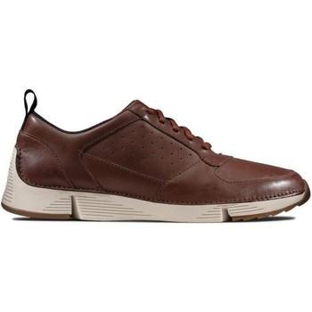 Zapatos Hombre Zapatillas bajas Clarks Pisos Tri Sprint Brown