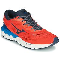 Zapatos Hombre Running / trail Mizuno WAVE SKY RISE 2 Rojo