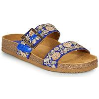 Zapatos Mujer Zuecos (Mules) Desigual ARIES EXOTIC Azul