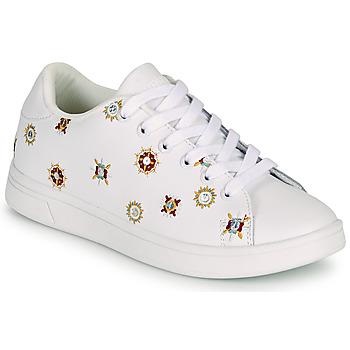 Zapatos Mujer Zapatillas bajas Desigual COSMIC JULIETTE Blanco