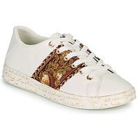 Zapatos Mujer Zapatillas bajas Desigual COSMIC EXOTIC LETTERING Blanco