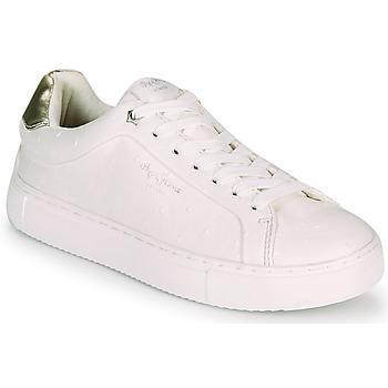 Zapatos Mujer Zapatillas bajas Pepe jeans ADAMS MOLLY Blanco / Oro