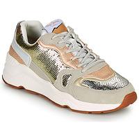 Zapatos Mujer Zapatillas bajas Pepe jeans HARLOW GOLDEN Beige / Oro