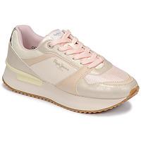 Zapatos Mujer Zapatillas bajas Pepe jeans RUSPER EVE Rosa / Leopardo