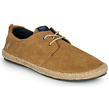 Zapatos Hombre Alpargatas Pepe jeans TOURIST C-SMART Beige