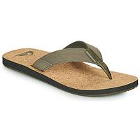 Zapatos Hombre Chanclas Quiksilver MOLOKAI ABYSS NATURAL Beige