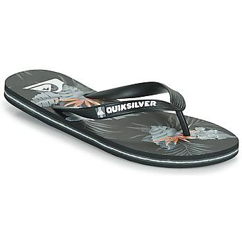 Zapatos Hombre Chanclas Quiksilver MOLOKAI EVERYDAY Negro