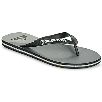 Zapatos Hombre Chanclas Quiksilver MOLOKAI NEW WAVE Negro / Gris