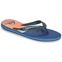 Zapatos Hombre Chanclas Quiksilver MOLOKAI PANEL Azul / Naranja / Negro