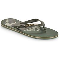 Zapatos Hombre Chanclas Quiksilver MOLOKAI PANEL Kaki