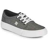Zapatos Niño Zapatos de skate DC Shoes TRASE B SHOE XSKS Gris