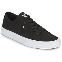 Zapatos Hombre Zapatos de skate DC Shoes MANUAL Negro / Blanco