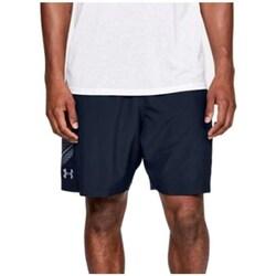 textil Hombre Shorts / Bermudas Under Armour Woven Graphic Shorts Azul marino
