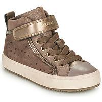 Zapatos Niña Zapatillas bajas Geox J KALISPERA FILLE Beige