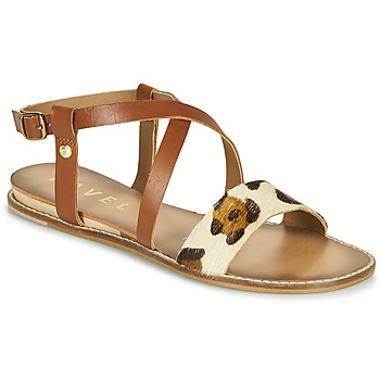 Zapatos Mujer Sandalias Ravel ASPEN Marrón / Leopardo