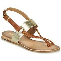 Zapatos Mujer Sandalias Ravel LUNA Oro / Camel