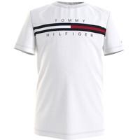 textil Niño Camisetas manga corta Tommy Hilfiger KB0KB06532-YBR Blanco