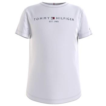 textil Niña Camisetas manga corta Tommy Hilfiger KG0KG05242-YBR Blanco