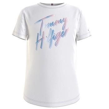 textil Niña Camisetas manga corta Tommy Hilfiger KG0KG05870-YBR Blanco
