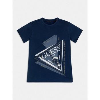 textil Niño Camisetas manga corta Guess L1RI15-K8GA0-F233 Azul